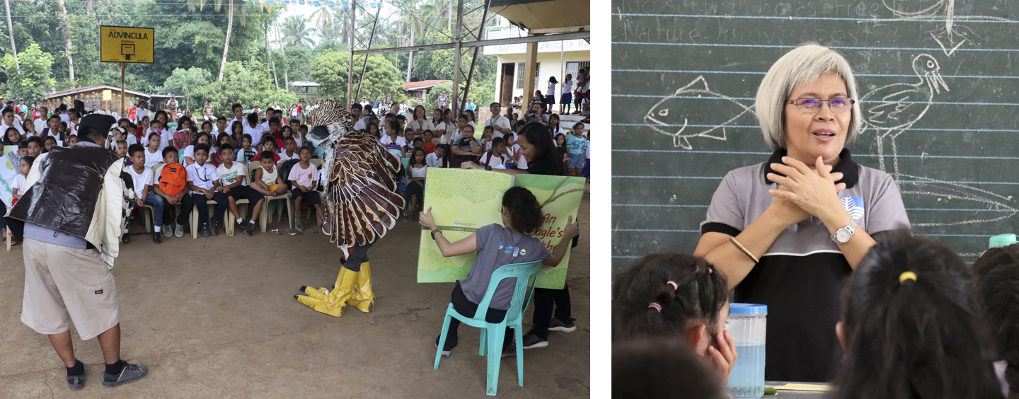 10 PEF DENR ENGAGE CHILDREN IN PROTECTING PHILIPPINE EAGLES THROUGH INFORMATION DRIVE