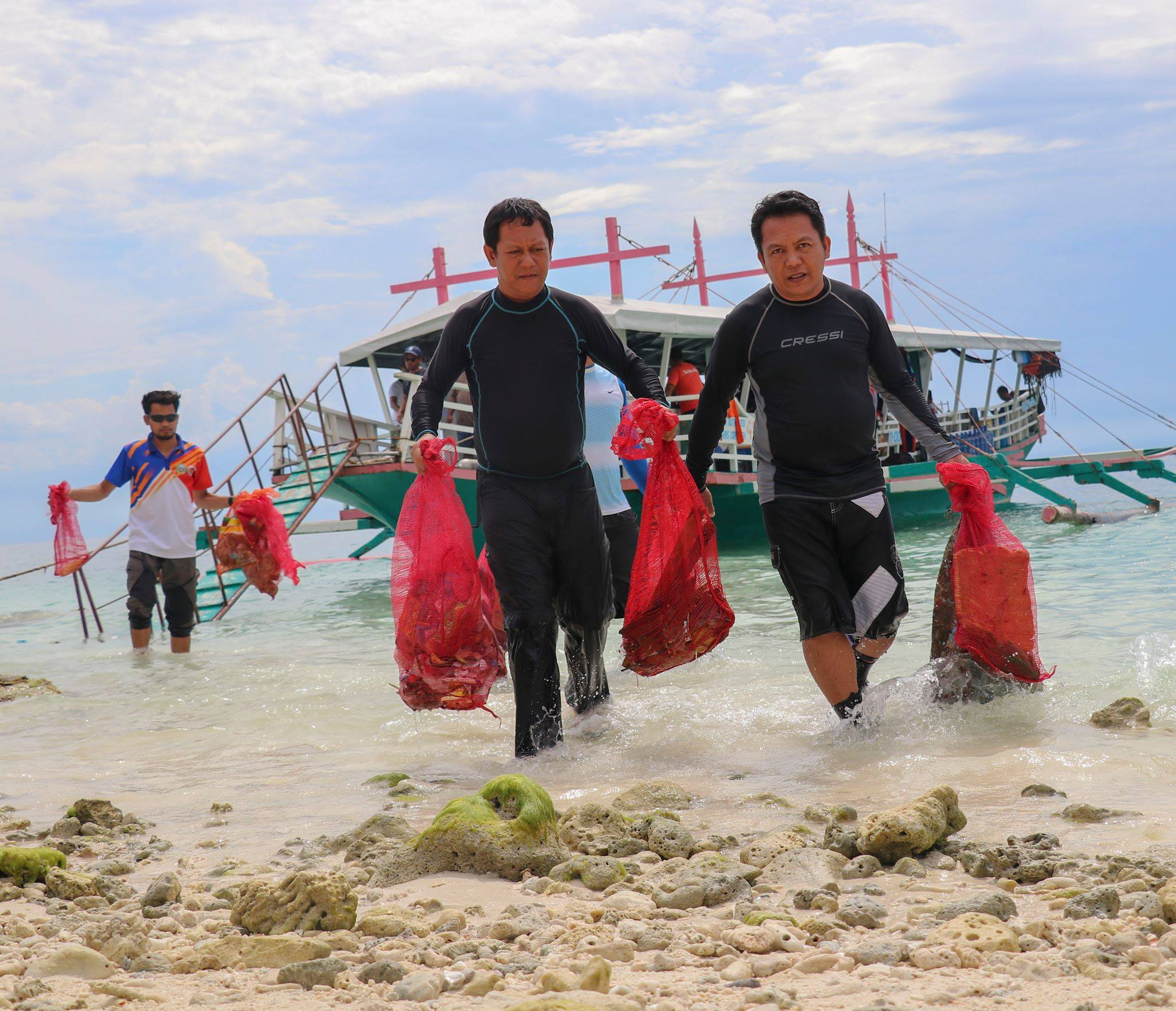 PENRO DavNor conducts reef and coastal clean-up in Samal