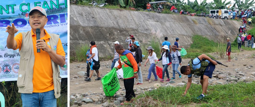 Naboc River clean-up drive commences